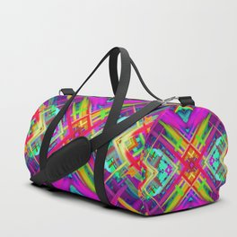 Colorful digital art splashing G475 Duffle Bag