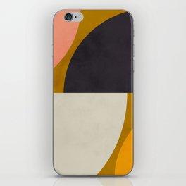 geometric art III iPhone Skin
