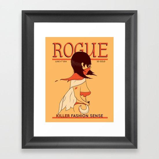 ROGUE Magazine - June 4th Era Framed Art Print
