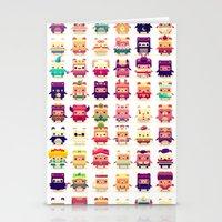 Stationery Cards featuring Alphabear by Spry Fox LLC