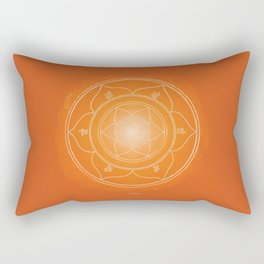 SVADHISTANA Boho mandala Rectangular Pillow
