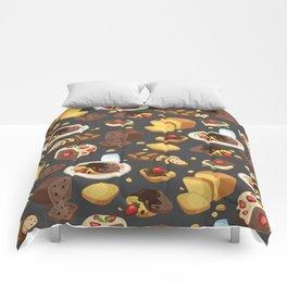 fruitcakeblack Comforters