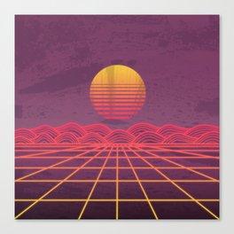 Neon Dream's  Canvas Print