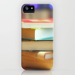 I love books iPhone Case