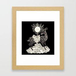 Kasuga Taisha Deer Spirit Framed Art Print