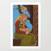 Idunn Art Print