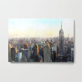 New York City, Beautiful View Metal Print