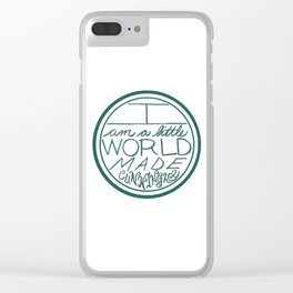 Little World Clear iPhone Case