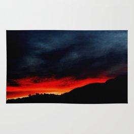 Australian Sunset in Summer Rug