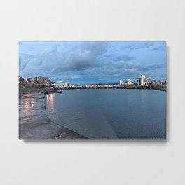 Weston-super-Mare Marine Lake Metal Print