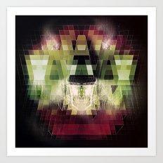 Cherub Under the Microscope: 2 Art Print