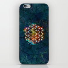 The Flower of Life Symbol iPhone & iPod Skin