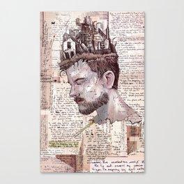 Self Construct Canvas Print