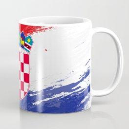 Croatia's Flag Design Coffee Mug