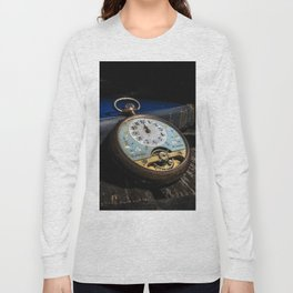 Time Peace - Pun intended Long Sleeve T-shirt