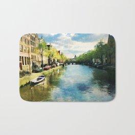 Amsterdam Waterways Bath Mat