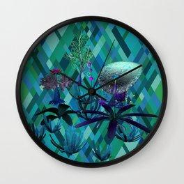 Fantasy Sea Life Wall Clock