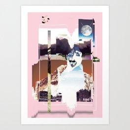 Landscape 3 Art Print