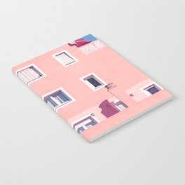 Sunny House And Blue Sky Notebook