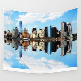 New York New York Wall Tapestry
