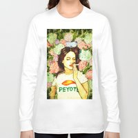ultraviolence Long Sleeve T-shirts featuring Hydranges and Peyote by Robert Red ART