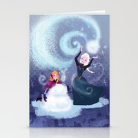 snowman Stationery Cards featuring Snowman by samanthadoodles