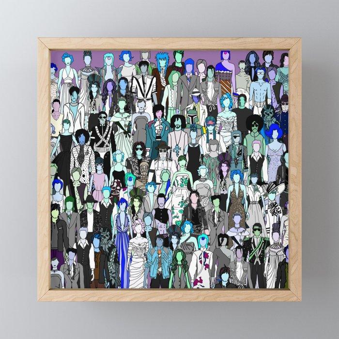 Tokyo Punks - Pop Zombies Framed Mini Art Print