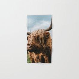 Scottish Highland Cattle - Animal Photography Hand & Bath Towel