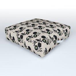 Arkansas - State Papercut Print Outdoor Floor Cushion