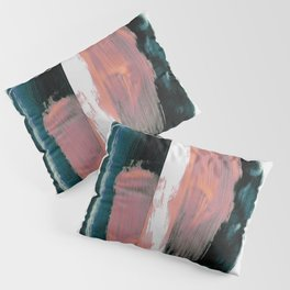 Abstract Brush Strokes 3X Pillow Sham