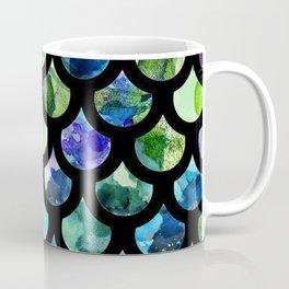 Watercolour Mermaid Pattern Coffee Mug