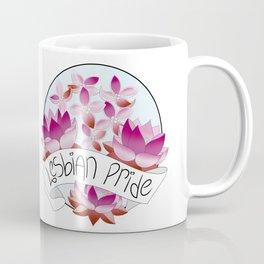 Lesbian Pride Flowers Coffee Mug