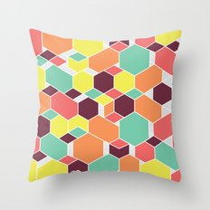 Hex P II Throw Pillow