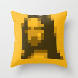 Mosaic Mona Throw Pillow