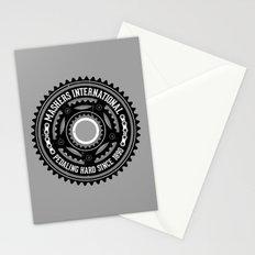 Mashers International (light grey) Stationery Cards