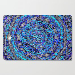 Blue spin Cutting Board