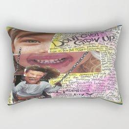 Grow Up by Seattle Artist Mary Klump Rectangular Pillow