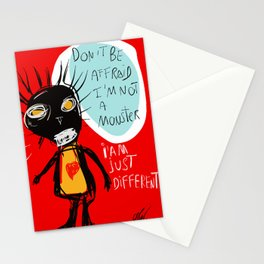Don't be affraid Stationery Cards