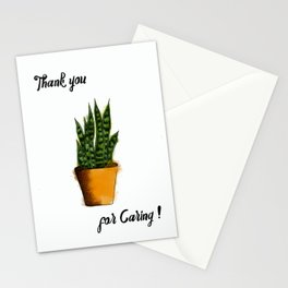 Thank You for Caring! Stationery Cards