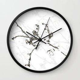 Minimal Nature - Cherry Blossom Branch 2 Wall Clock