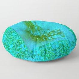 Jade Kwan Yin Floor Pillow