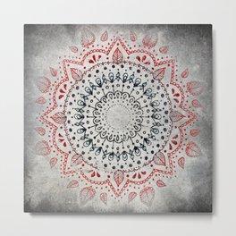 Granite Mandala Metal Print