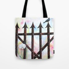 Dream and Reality Tote Bag