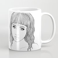 doll Mugs featuring doll by Ripley Bruce