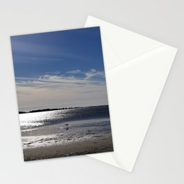 December breeze, Kure Beach Stationery Cards