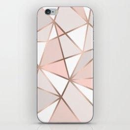 Rose Gold Perseverance iPhone Skin