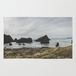 Rocky Oregon Coast Rug