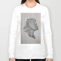 darth Long Sleeve T-shirts featuring Darth by JoeMcMenamin