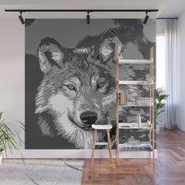 Wolf20151104 Wall Mural
