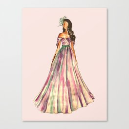 Belle Of The Ball (Pink Edition) Canvas Print